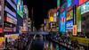 Dotonbori Canal - Osaka Japan (Gerald Ow) Tags: japan osaka dotonbori canal halloween night glico geraldow sony a7rmk2 a7rii a7r2 fe 2470mm f28 gm ilce7rm2 gmaster 道頓堀 dōtonbori glicoman dotonboribridge photography flickr