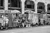 Broadway's Best (MarkL87) Tags: manhattan nyc midtown foodcart foodtruck bw blackandwhite streetphotography streets