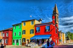 Le Case di Burano (iw2ijz) Tags: burano veneto case house colori colors gente negozio vivace vivido pennellata painting