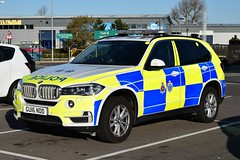 Sussex And Surrey Police Armed Response Vehicle GU16 NDD Bmw (Sussex photos) Tags: sussex and surrey police armed response vehicle gu16 ndd bmw x5 xdrive40d ac auto one both sussexs joint arvs seen parked up in eastbourne