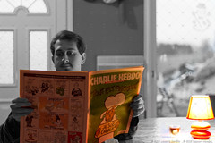 Lecture Charlie version 2.jpg (nicolaslecourt) Tags: jesuischarlie portrait charliehebdo hommage nicolas
