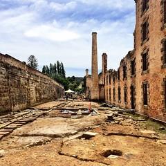 Archeological dig. Port Arthur.