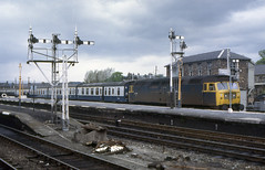 Stirling Semaphores (SydPix) Tags: 47225 class47 stirling station semaphores signals signalbox diesel locomotive railways trains sydyoung