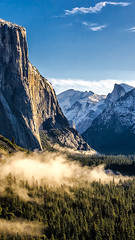 good morning. (adamakhmadov) Tags: yosemite yosemitevalley yosemitenationalpark halfdome elcapitan nationalpark nps park snow hiking climbing rockclimbing alexhonnold adventure winter sky clouds landscape nature sierras highsierra pacificcrest mammoth tunnelview anseladams johnmuir