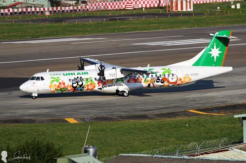 UNI AIR ATR-72-600 B-17001