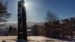 Nichts Süßres gibt es, als der Sonne Licht zu schaun...  (Friedrich Schiller) (roland_lehnhardt) Tags: eos60d canon efs24mmf28stm winter landschaft landscape sonne licht schatten sun light shadow panorama allgäu bayern sunbeams sonnenstrahlen himmel sky bleu blue schnee snow 2017 germany berge mountain