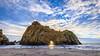 Pfeiffer Beach (Rob Enns) Tags: pfeifferbeach hdr beach ocean sunset bigsur sky seascape arch landscape california clouds