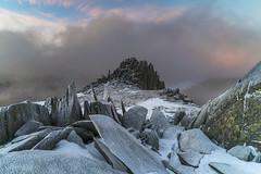 'The Ice Dragon' - Glyder Fach (Kristofer Williams) Tags: landscape snowdonia mountains glyderfach castell y gwynt snow ice frost winter rocks outdoor hillwalking hiking cloud wales eryri
