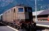 636 196  Meran  10.09.85 (w. + h. brutzer) Tags: meran 636 eisenbahn eisenbahnen train trains italien italia elok eloks railway lokomotive locomotive zug fs webru analog nikon