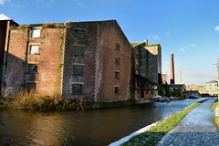 Years gone past. (padge83) Tags: nikon d5300 canal leedsliverpool derelict past water sky shipley