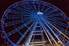 Colour wheel (Tatiana Malevich (neverbluda)) Tags: düsseldorf duesseldorf germany deutchland night light lights wheel observationwheel bigwheel ferriswheel