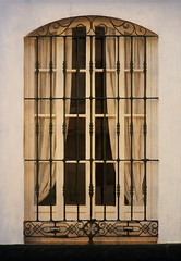 Window in Conil (suzanne~) Tags: spain andalusia conildelafrontera window outdoor painterly flypapertexture