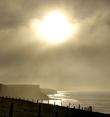 Stay Gold (pauldunn52) Tags: whitmore stairs glamorgan heritage coast wales coastal path sun sea mist shining waves shimmering