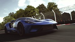 Ford GT 2017 (polyneutron) Tags: car photography ford gt 2017 blue supercar forza motorsport fm6 forza6 apex pc photomode motionblur