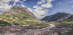 Norwegian mountains (Mika Tuomela) Tags: mountainscenery mountains landscape mountainlandscape nature naturelover highmountains norway vestlandet southernnorway naturephotography nikon d90 clouds clearskies sunnyweather