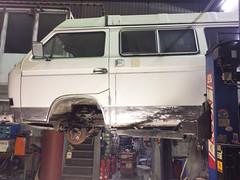 13. Februar 2017: Tank ausbau, Bremsen check