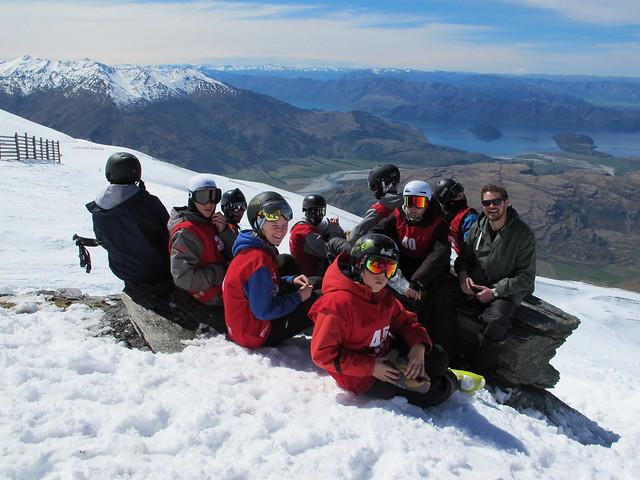 NZ Junior Freeride - Treble Cone, Wanaka NZ (September 27, 2014)