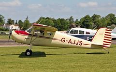 "G-AJJS Cessna 120 Sturgate  EGCV Fly In 07-06-15 (PlanecrazyUK) Tags: ""fly in"" sturgate 070615 cessna120 egcv gajjs"