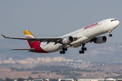 Spanish Jet (Zohar Azar) Tags: plane airplane israel airbus a330 spotting iberia planespotting