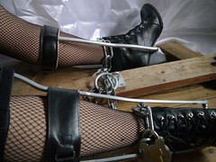 Chained too (JKiste2008) Tags: chains leg brace kafo caliper