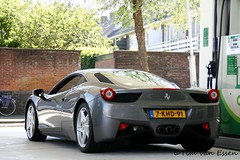 Ferrari 458 (timvanessen) Tags: spaarne f bp 3000 142 gumball gumball3000 f142 spaarndamseweg 7khd91