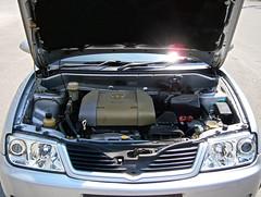 2004 Proton Waja 1.6 AT (ENH) in Ipoh, MY (36, Engine) (Aero7MY) Tags: 2004 car sedan malaysia 16 saloon ipoh enhanced proton enh waja 16l 4door impian at 4g18
