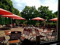 #Gartenterasse (RenateEurope) Tags: copenhagen denmark restaurant hotel nordsee ostsee kiel oslofjord oslonorway 2015 rückreise eschbachtalsperre iphoneography renateeurope meinschiff4 kreuzfahrt2015