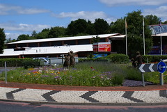 15th July Roundabout at the junction of Water Street and Commercial Road, Chorley U.K. (dickinsonjohn02) Tags: flowers roundabout wildflowers wicker markettown commercialroad chorleylancashire chorley2015