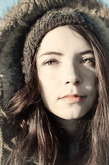 NaT (YouKnowNothingJonSnow) Tags: city portrait people white green girl beautiful beauty hat fashion tom female hair model eyes gorgeous memory moment russian geographic tlv daya