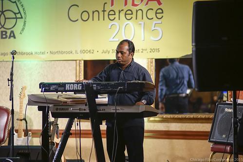 Sunil Solomon magic on keyboard