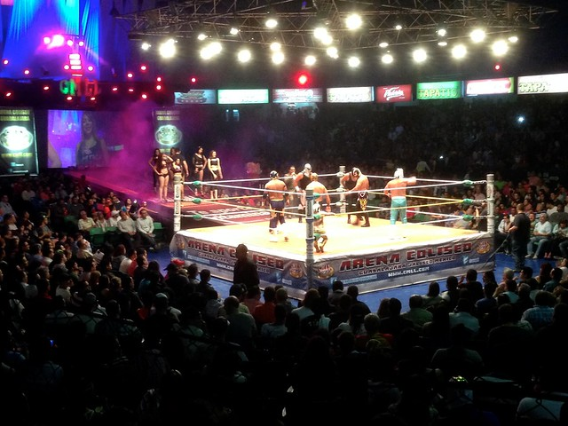 Into the Ring at Lucha Libre