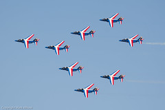 Patrouille de France at RIAT 2015 (Mark_Aviation) Tags: france tattoo de airplane force martin aircraft aviation air hill royal special f16 international belgian vulcan hornet boeing af finnish f18 douglas lockheed scheme blizzard campsite airbase avro fairford topside mcdonnell riat 2015 totterdown patrouille f18c xh558 f16am