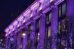 Londres (FGuillou) Tags: londres london city décoration de noël merry christmas violet magie magic 伦敦
