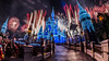 Christmas All Around Us (Mark Willard Photography) Tags: walt disney world nikon d810 sigma fisheye fireworks pyro pyrotechnics cinderella castle magic kingdom orlando florida