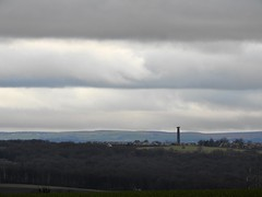 Keppel's Column under a dull grey stripy sky. (Sharon B Mott) Tags: keppelscolumn column landscape sky greysky view rotherham southyorkshire january stripey stripy wentworth