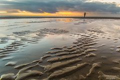 The Lookout (Gamblin Man) Tags: crosby liverpool merseyside beach sunset ironman antonygormley anotherplace longexposure landscape nikon