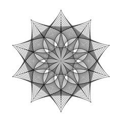 (chrisinplymouth) Tags: geometry geometric symmetry symmetrical drawing linear line pattern design cw69sym digitalart artwork art cw69x star polygon