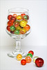 marbles in a glass (maggie224 -) Tags: marbles glass colour matchpointwinner mpt517