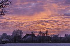 sky is on fire (willy.sybesma) Tags: willysybesmafotografie wit vrij werk