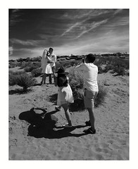Photographers at Work (Joe Franklin Photography) Tags: blackandwhite bw wedding desert arizona az almostanything page pageaz joefranklin wwwjoefranklinphotographycom glencanyon canyon northernarizona