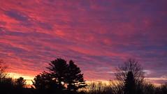 Good Start (vtpeacenik) Tags: sky sunrise december vermont