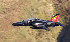 Thumbs Up (Treflyn) Tags: thumbsup instructor greeting back seat bae hawk t2 zk020 pupil speeds past low fast training sortie bwlch mach loop wales