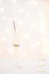 Brindis por el nuevo año! (Monica Fiuza) Tags: felizañonuevo happynewyear copa cava champán brindis chinchin cheers bengala