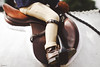 The Beginning (suzcphotography) Tags: equine equestrian jodhpurs child rider leg stirrup young beginning beginner hunter jumper saddle clover grove farm canon t3i 50mm suzcphotography pony riding