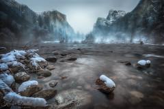 Yosemite dreams (wandering indian) Tags: yosemitenationalpark nps california kedardatta fullmoon nikon nikond810 longexposure waterfalls water snow winter