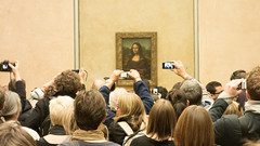 The world's most photographed painting (Kailas.Shastry) Tags: monalisa rx100