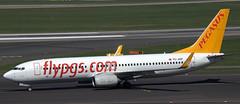 Boeing 737-82R TC-AEP (707-348C) Tags: dusseldorf eddl dus airliner jetliner boeing boeing737 b738 passenger pegasus pgt tcaep pegasusairlines flypgscom