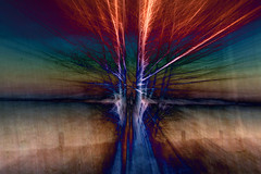 What the tree said (thewhitewolf72) Tags: baum zoom farben urknall see silvester wandlitz morgen icm