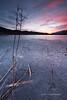 Lago ghiacciato / Frozen lake (Ag-NO3 Angelo Sampino) Tags: lago lake paesaggio landscape acqua water cielo sky tramonto sunset armonia armony colori colors revine vittorio veneto treviso italy nikon d700 angelo sampino sampinoangelo agno3 © verticale vertical allaperto calma freddo could ghiaccio ice