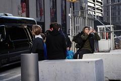 "Outside Church Street Entrance to ""Oculus"" (sjnnyny) Tags: sonya6000 emountsigma60mmf28dn touristsny streetbarricade outsidewtc outsideofoculus people stevenj sjnnyny urbancity downtownmanhattan street nyc candid churchstatdeyst century21"
